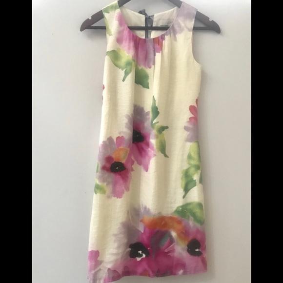 LOFT Dresses & Skirts - Loft linen dress - sz 0P 🌸